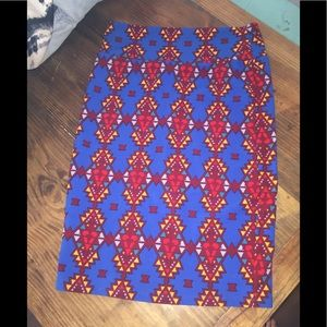 Lularoe Aztec Boho Medium Pencil Skirt or Tube Top